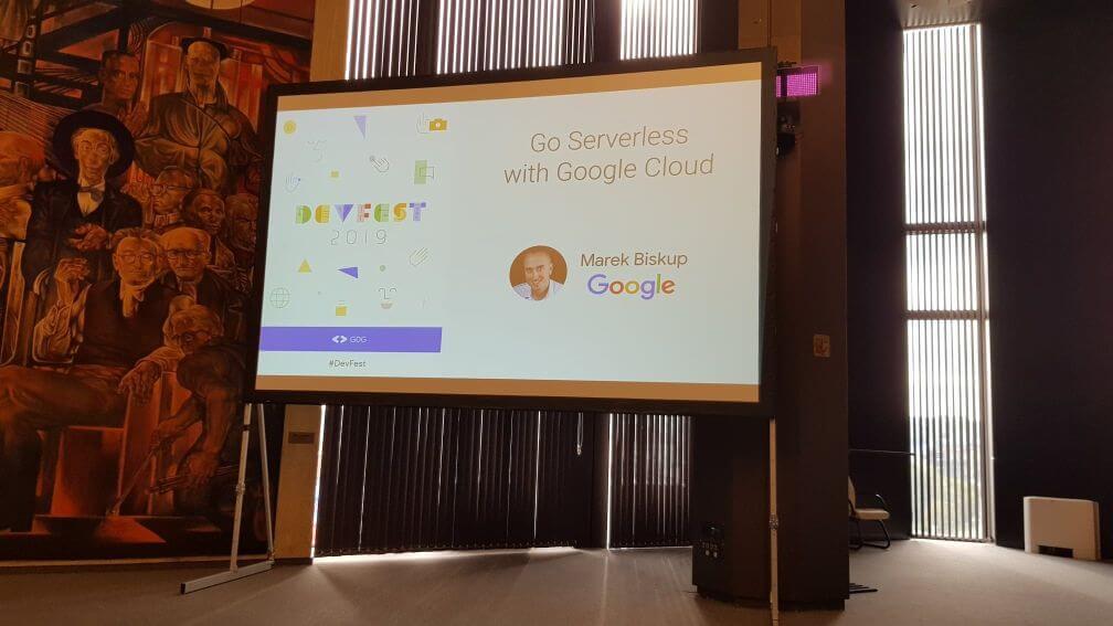 Първа лекция - Go serverless with Google Cloud