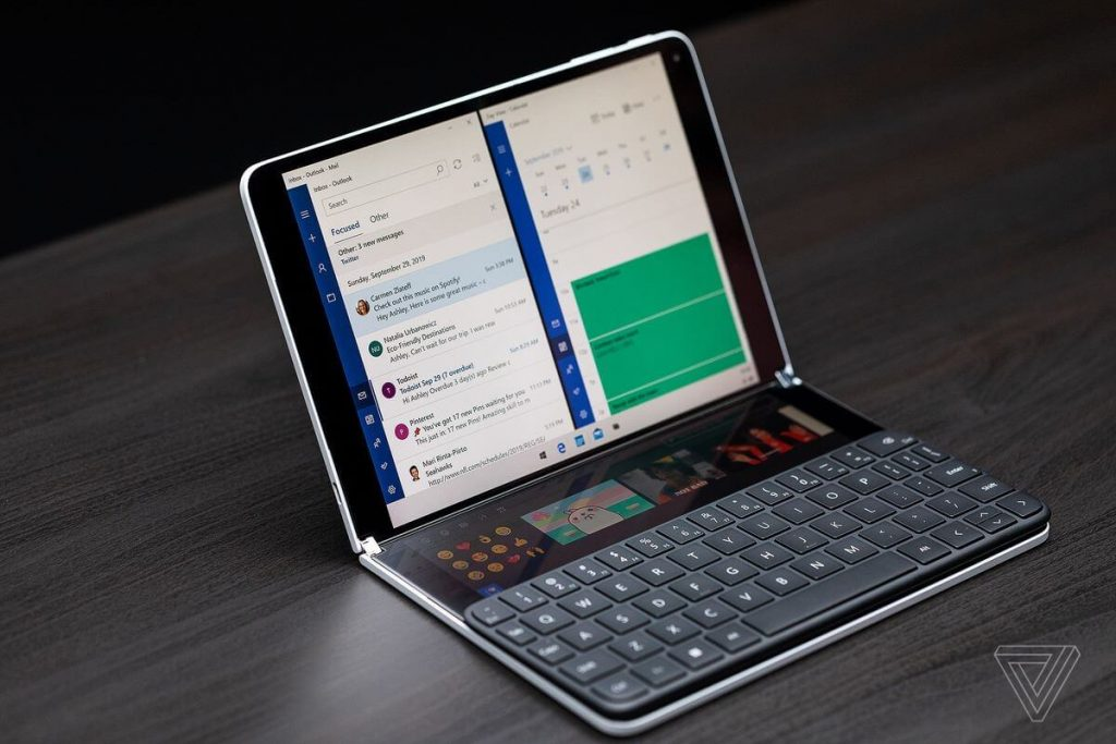 Microsoft Surface Neo с bluetooth клавиатура