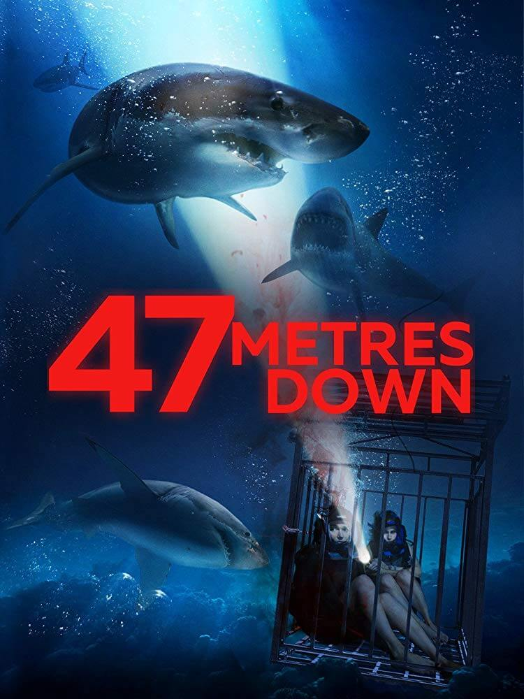 постер на филма 47 meters down
