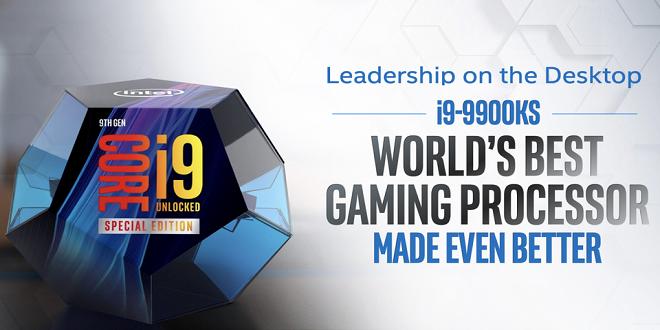 Intel Core i9 9900KS за $1199