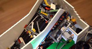 LEGO с AI подрежда LEGO части (видео)