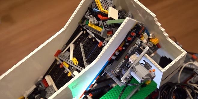 машина от Lego с AI