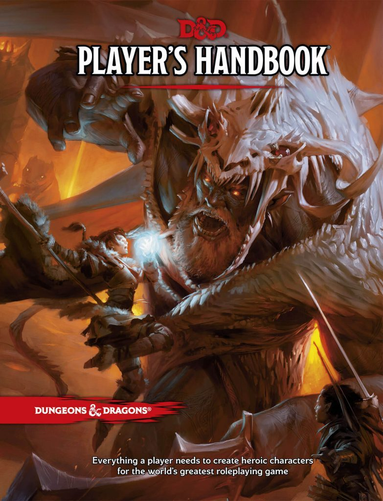 наръчник за ролевата игра Dungeons and Dragons