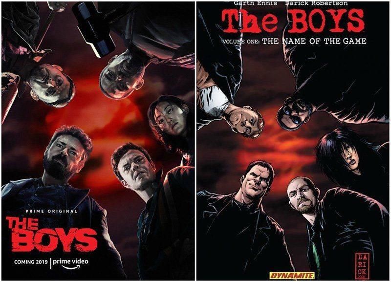 """корицата на сериала """"The Boys"""""""