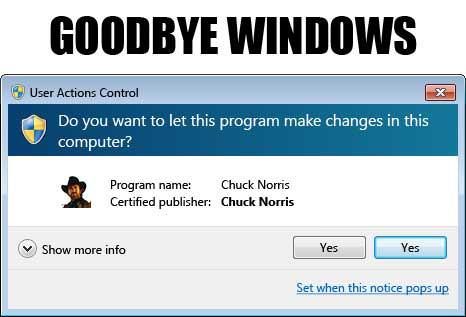 Чък Норис и технологиите, как се инсталира програма