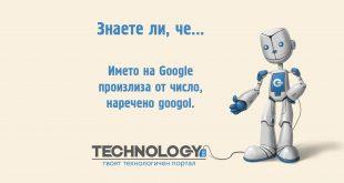 Историята на Google – откъде идва името?