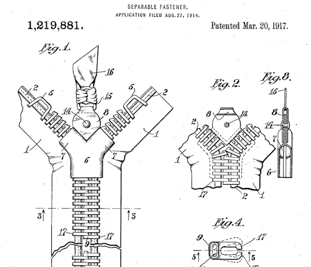 патент за първия цип