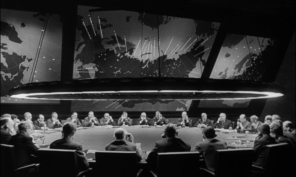 Dr. Strangelove - т.нар. War Room - Военната зала