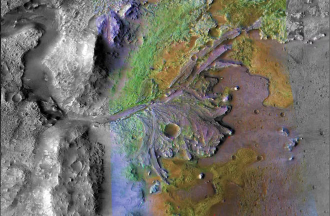 Кратерът Джезеро Jezero Crater