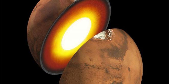 InSight Структура на Марс