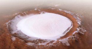 Студ и лед на Марс още от формирането му доказва ново изследване