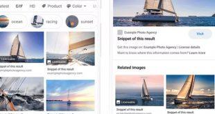 Ъпдейт в Google Images прави лицензирането на изображения по-лесно