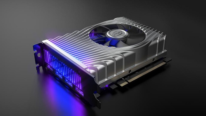 Intel DG1 - тийзър от CES 2020. Източник: forbes
