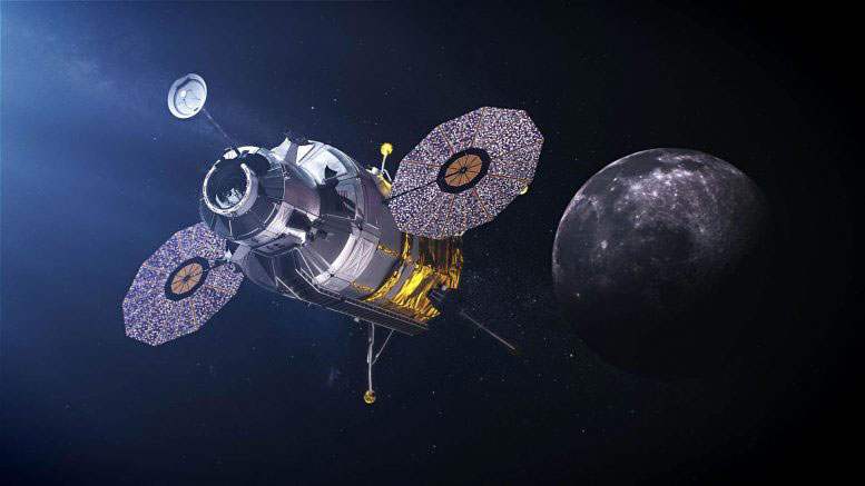 Корабът на програмата за кацане на Луната Артемида