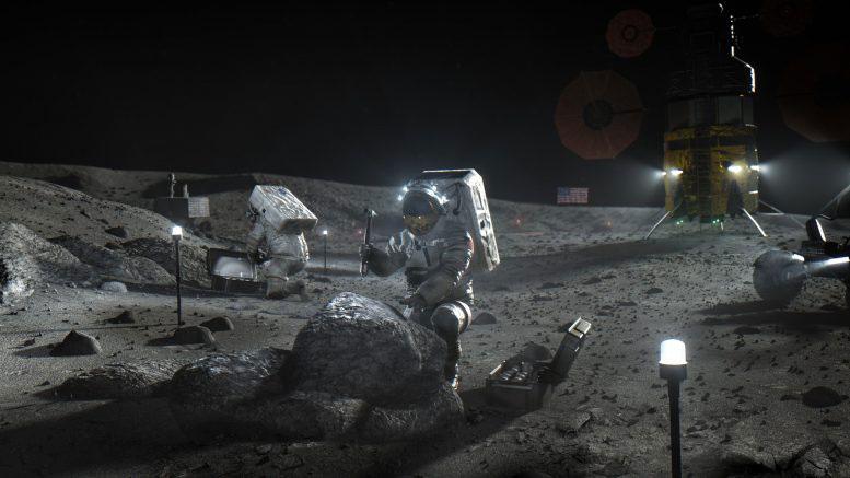 Астронавт от програмата и Споразуменията Артемида