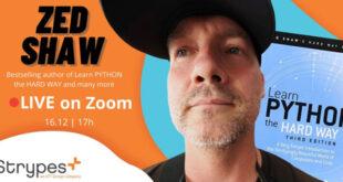 Сравняване на Python с по-нови езици – една безплатна лекция със Zed Shaw