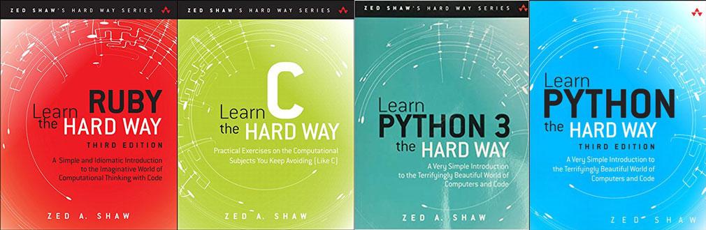 Книгите на Zed Shaw