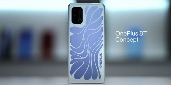 Променящ цвета си телефона OnePlus 8T
