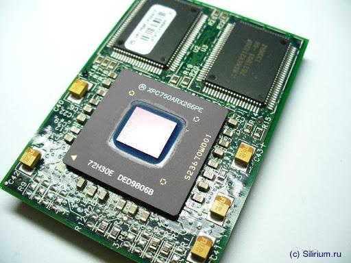 Процесора в Perseverance - PowerPC 750. Източник: silirium.ru