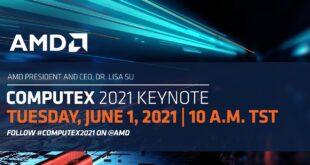AMD в Computex 2021 – светът се променя