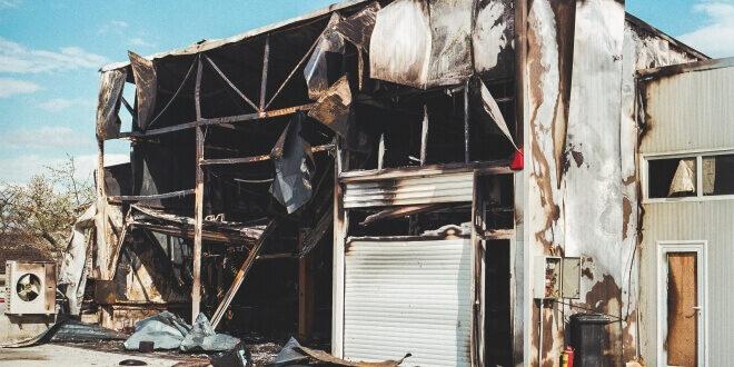 Kinetik след пожарът.