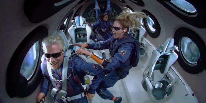 Virgin Galactic на Ричард Брансън отново пусна билети за полет до Космоса