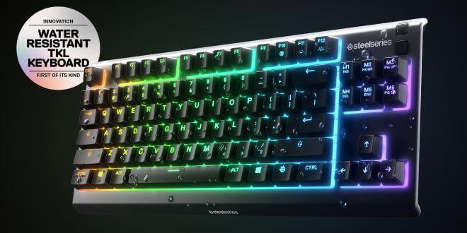 APEX 3 TKL - първата водоустойчива гейминг клавиатура